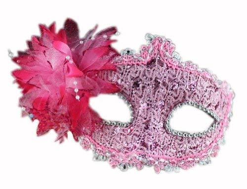 Primary image for Bradde Chain Lilies Mask Halloween Party Mask Masquerade Mask(Pink)