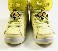 nike air jordan retro (ps) dynamic yellow mid top toddler 543389-800 uni... - $63.58