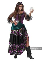California Costumi Mistico Charmer Gitano Fortune Adulto Halloween Costu... - $47.23