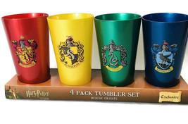 Wizarding World of Harry Potter House Tumbler Cup Set Universal Studio E... - $45.99