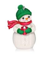Hallmark Keepsake Ornament Comfy Cozy Snowman 2014 - $8.91