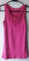 Children's Place Girls Shirt Size XL (14) Pink Tank Top - 100% Cotton - $5.89