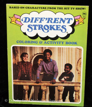 Different Strokes Coloring Book 1983 - $16.99