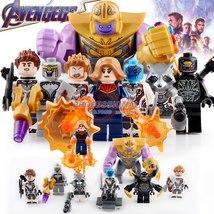 8pcs Avengers Endgame Captain Marvel Thanos Nebula Thor Chitauri Lego Minifigure - $15.99