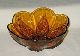 Anchor Hocking Renaissance Pattern Gold 6 3/4-inch Footed Bowl - $9.85