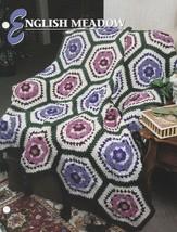 English Meadow, Annie's Crochet Quilt & Afghan Pattern Club Leaflet QAC3... - $3.95