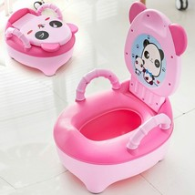 Baby Pot Children Training Potty Toilet Seat Kids Cartoon Panda Toilet T... - $15.99+