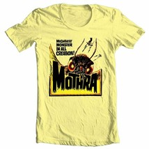 Mothra T-shirt retro sci fi monster movie Godzilla 100% cotton graphic tee image 1