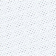 "Zweigart Aida Ice Blue 16 Count ""18 X 21"" With Free Tapestry Needle! - $9.89"