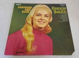 RECORD ALBUM Connie Smith SUNSHINE AND RAIN 1968 RCA LSP-4077 NM/EX Viny... - $5.94