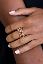 Paparazzi Jewelry Ring Can Only Go Upscale From Here Rhinestones - $4.94