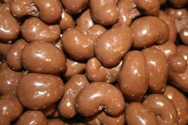 MILK CHOCOLATE CASHEWS-2LBS!!! - $19.91
