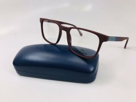 New LACOSTE L2819 604 Matte Burgundy Eyeglasses 52mm with Case - $68.06