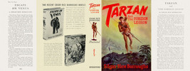 Burroughs, Edgar Rice. TARZAN AND THE FOREIGN LEGION facsimile dust jacket - $21.56