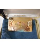 LANDSTROM'S 10K BLACK HILLS GOLD Tri-Colored TRIM  WOMENS ESTATE BELT BU... - $159.49