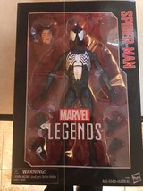"Hasbro Marvel Legends 12"" Symbiote Spider-Man Action Figure New X'mas Sale - $38.69"