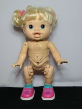 2011 Hasbro Baby Alive I WANNA WALK Interactive Blonde Walking Talking 1... - $39.60