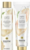 PANTENE Nutrient Blends Complete Curl Care Shampoo & Conditioner - $29.00