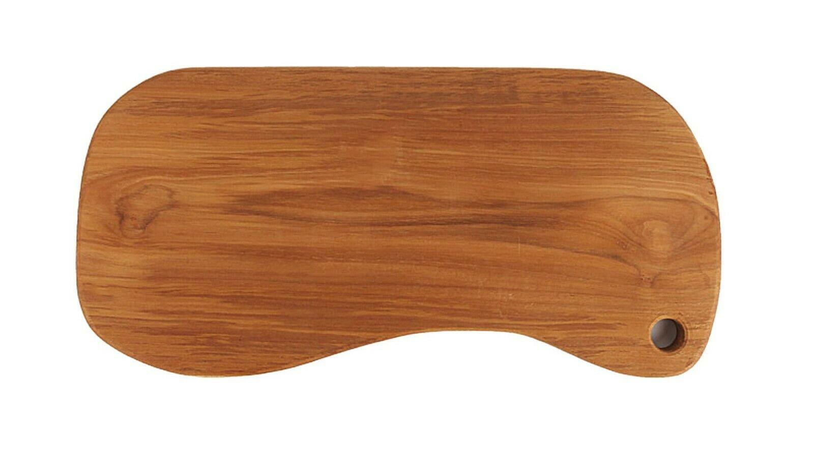Loyal Adams Teak Sono Kitchen Peanut Wooden Serving Chopping Cutting Bread Board