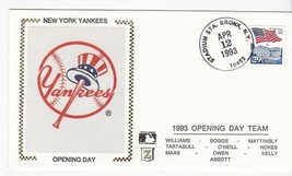 NEW YORK YANKEES OPENING DAY 1993 STADIUM STATION BRONX NY 4/12/1993 Z SILK - $1.98