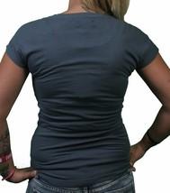 Bench UK Morph Tee Dark Grey Green Melting Black Logo Graphic Short Sleeve Shirt image 2