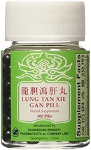 ????? Lung Tan Xie Gan Pill (for Bile System)- Herbal Supplement, 100 Pills - $14.65