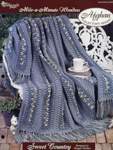 Sweet Country Afghan TNS Mile A Minute Crochet PATTERN/INSTRUCTIONS NEW ... - $3.57