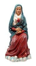 Ebros Our Lady Of Seven Sorrows Statue Mater Dolorosa Blessed Virgin Mary With C - $27.99