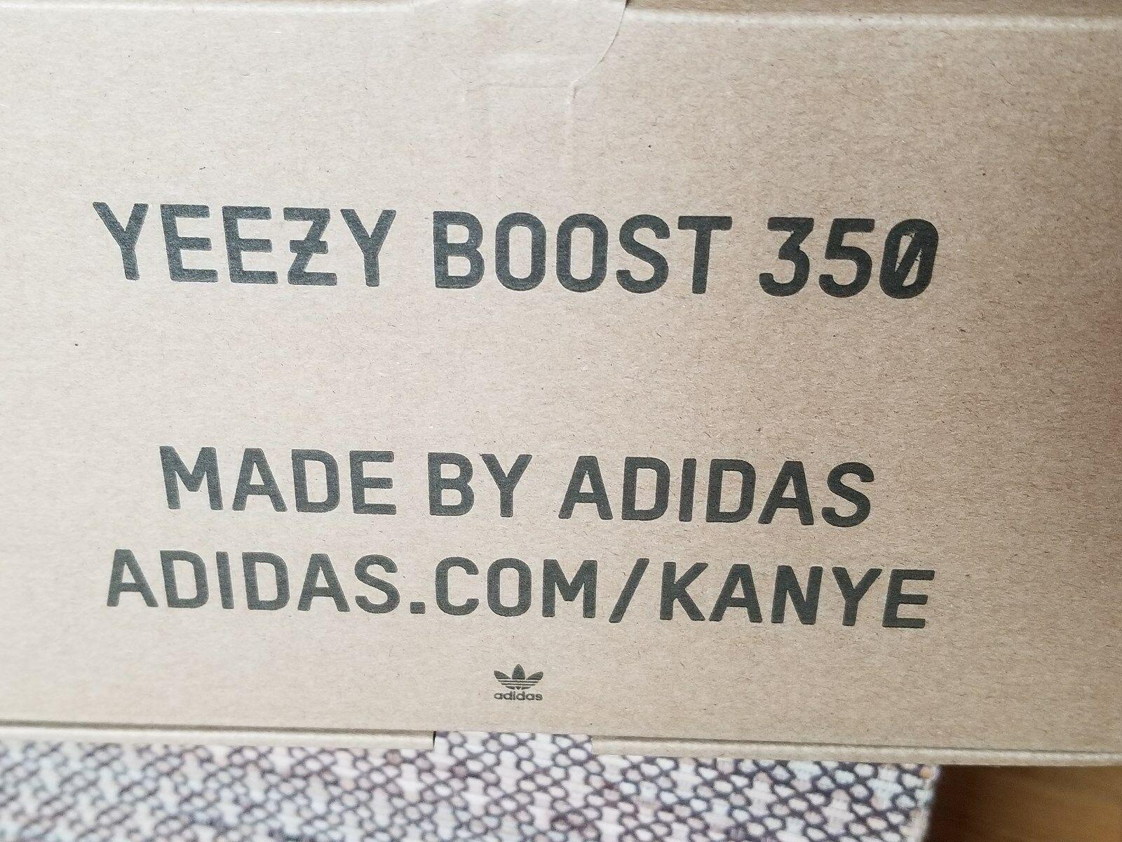 Adidas Yeezy Boost 350 V2 Blau Getönt Grau Rot B37571 Vorrat Neu Box Größe 9.5 image 10