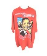 Obama 2008 Change The World Red T-shirt 4XL  - $24.74