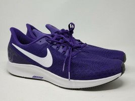 Nike Air Zoom Pegasus 35 TB Mens 13 Court Purple White AO3905 501 Runnin... - $79.15