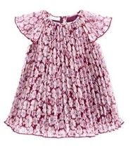 First Impressions Baby Girls' Chiffon Dress, Perfect Plum, Size 3-6M - $10.88