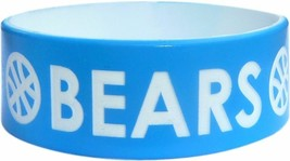 """1 of ONE INCH 1"""" COLOR TEXT CUSTOM SILICONE WRISTBAND - $6.81"""