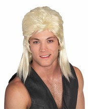 Rubies Blonde Mullet 80s Hillbilly Wig Adult Halloween Costume Accessory 51165 - £11.50 GBP