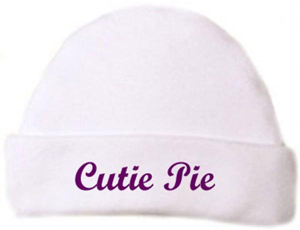 "Preemie & Newborn ""Cutie Pie"" Hat"