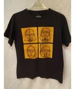 Star Wars TShirt Darth Vader Storm Trooper C3PO Boba Fett Helmet TShirt ... - $7.87