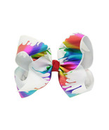 Hair Clamps Cute Bow Irregular Non Slip Claw Clips Hair Cotton Childdren... - $5.90