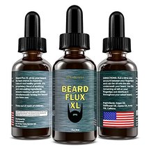 Beard Flux XL | Caffeine Beard Growth Stimulating Oil for Facial Hair Grow | Fue image 2