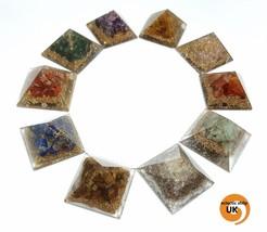 Orgone EMF Energy Protector Pyramids Crystal Gemstone Various Choices Yo... - €15,20 EUR