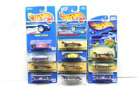 12 Hot Wheels Die Cast Car Lot 1991-2001 Mattel INDY F-1 Thunder Turbo S... - $2,296.59