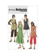 BUTTERICK PATTERNS B5046 Misses' Top, Dress and Pants, Size BB (8-10-12-14) - $9.68