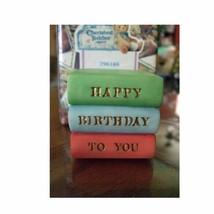 Enesco Cherished Teddies Covered Box Birthday Age 10 - $15.00