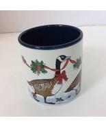 Potpourri Press Christmas Goose Coffee Tea Cocoa Cup Mug 12 OZ Made Japan - $12.19