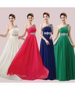 One shoulder evening /bridesmaids dress at Bling Brides Bouquet online B... - $129.99