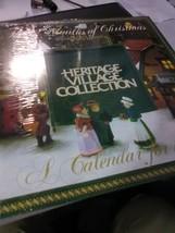 Dept 56 1992 Calendar - Heritage Village - 12 Months of Christmas - $4.59