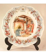 16cm Royal Doulton Brambly Hedge Winter afternoon tea plate from the Bra... - $41.16