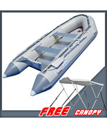 BRIS 1.2mm PVC 14.1ft Inflatable Boat Rescue Raft Power Boat With Free B... - $1,499.00