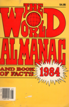 The World Almamac & Book of Facts 1984 - $2.95