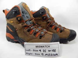 MISMATCH Keen Pittsburgh Size 9 2E WIDE Left & 9 Medium Right Men's Work Boots