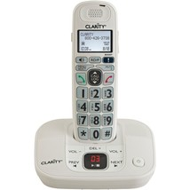 Clarity Dect 6.0 Amplified Cordless Phone With Digital Answering System ... - $87.74